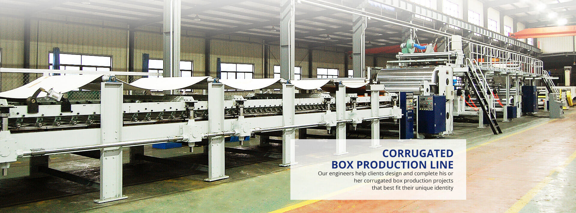 Corrugator Cardboard Production Line