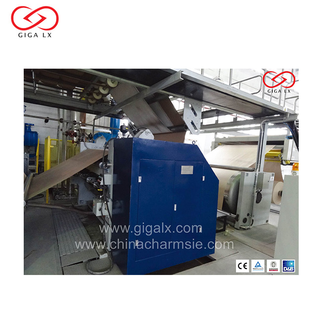GIGA LXC-410S Best Price Steam Heating Single Facer Line Machine with low factory price