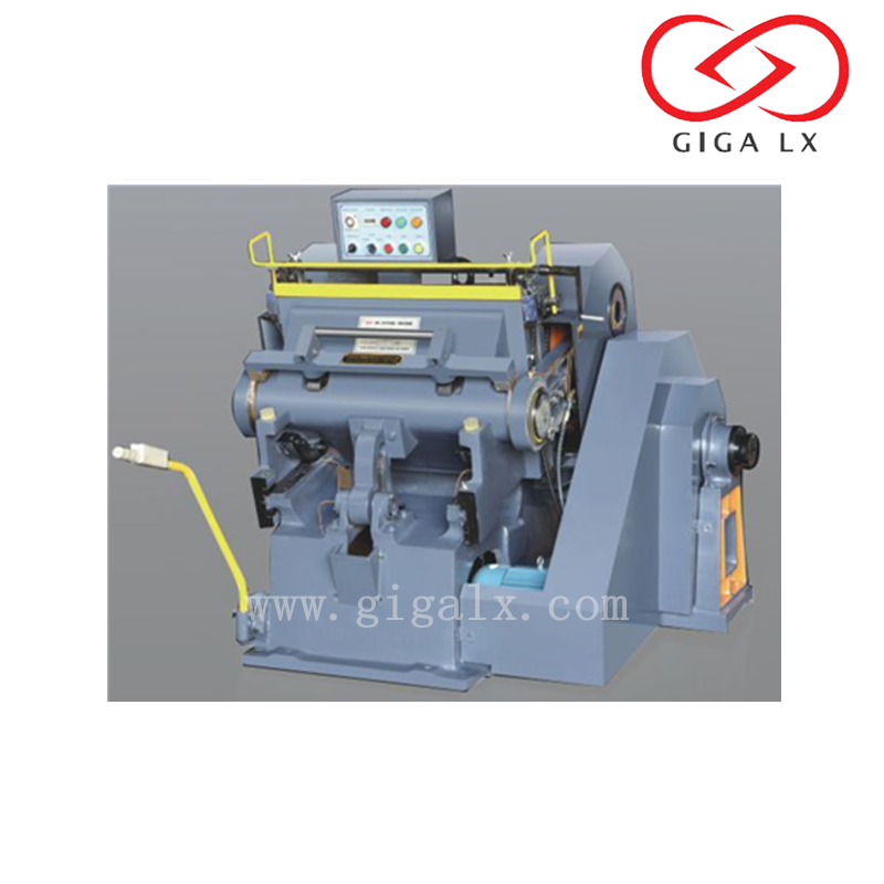 GIGA LX Semi-automatic Feeder Safety Tiger Die Cutter for All Kind Box