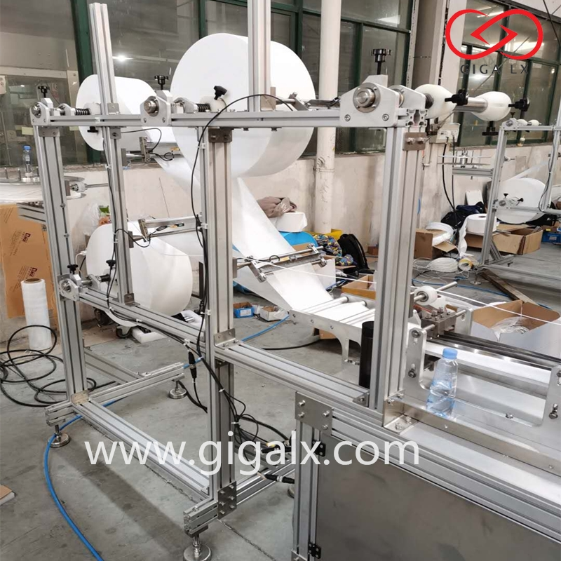 GIGA LX Automatic Surgical Disposable Outside Earloop Medical N95 Face Mask Making Machine price